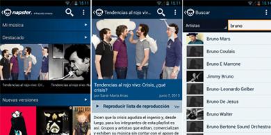 Napster se renueva y llega a Chile con Movistar