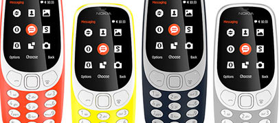 Nokia volvió con tres smartphones y el clásico 3310
