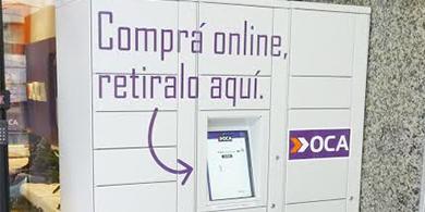 OCA lanz� su servicio de e-lockers en Argentina
