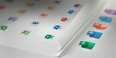 Rediseñamos los íconos de las aplicaciones de Office para el nuevo mundo del trabajo