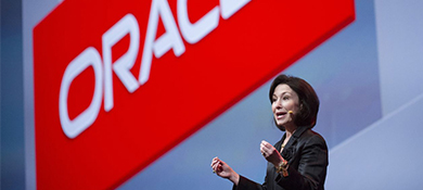 Safra Catz, CEO de Oracle, cenó con Trump y se quejó de Amazon