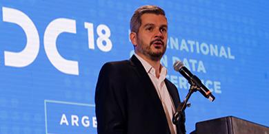 Peña e Ibarra destacaron la apertura de datos públicos en el IODC 18