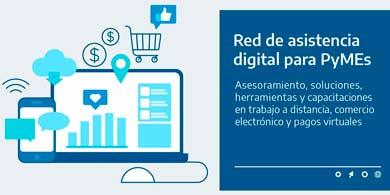 El Gobierno lanzó la Red de Asistencia Digital para PyMEs