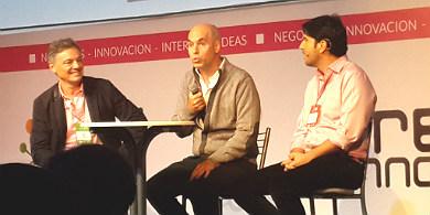 Rodriguez Larreta y Cabrera abrieron Red Innova, junto a Pablo Larguía