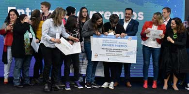 90 estudiantes en la final de la Maratón Nacional de Programación y Robótica