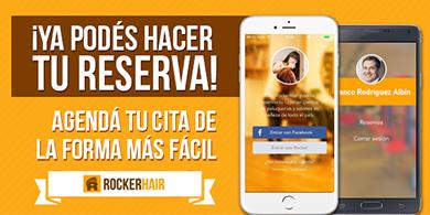RockerHair, la app uruguaya para ir a la peluquería