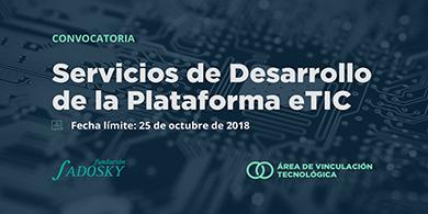 Lanzan un concurso para desarrollar la plataforma eTIC (Ecosistema TIC argentino)