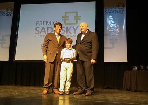 Martin Migoya fue reconocido por la Cessi con el Sadosky de Oro