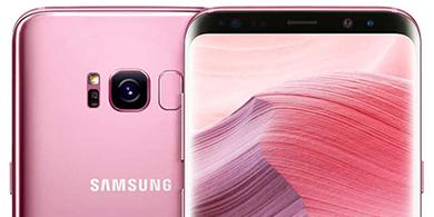 ¿Cómo es el Galaxy S8 rosa que llegó a la Argentina?