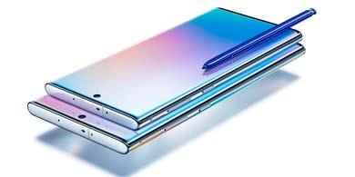 Galaxy Note10, lo nuevo de Samsung presentado en su evento Unpacked