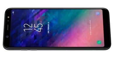 Samsung presentó su Galaxy A6+ en Argentina