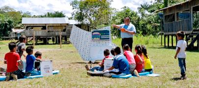 Samsung Nómada: aulas portátiles en el interior de Colombia