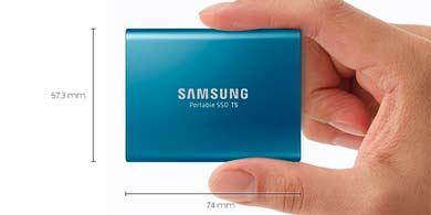 SSD T5, el nuevo disco portátil de Samsung