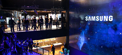 Samsung abrirá una megatienda en Buenos Aires, inspirada en NY