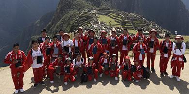 Samsung armó una Smart School en el corazón del Imperio Inca
