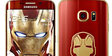 Nuevo Samsung Galaxy Edge versi�n Iron Man