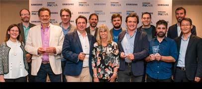 ¿Quienes son los ganadores del Samsung Innova?