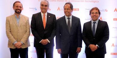 Scioli quiere una Argentina protagonista en la 3ra revoluci�n industrial