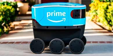 Scout, el robot de Amazon para delivery