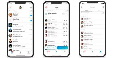 Microsoft rediseña Skype y elimina las funcionalidades estilo Snapchat