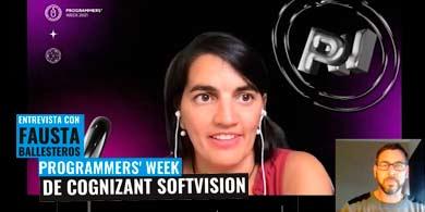 Cognizant Softvision prepara su Programmer´s Week. Entrevista con Fausta Ballesteros