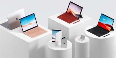 Lo nuevo de Microsoft Surface incluye dispositivos de doble pantalla