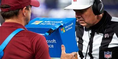 Microsoft y la NFL expanden su alianza con la integración de Surface y Teams