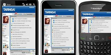 Taringa! crece en celulares y supera las 40 millones de visitas m�viles