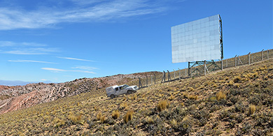 Telecom instaló un espejo para llevar su red 4G a La Quiaca