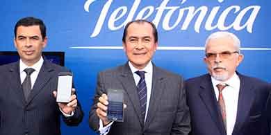 Telefónica lanza su red 4G en Perú