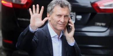 Macri abrió su canal en Telegram.