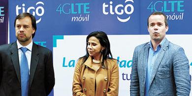 Tigo presentó su servicio 4G LTE en Bolivia