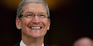 Tim Cook, CEO de Apple: