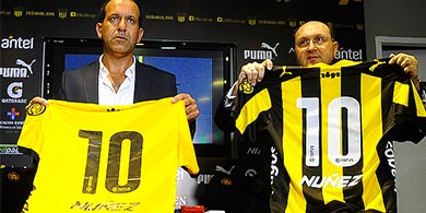 TOTVS se pone la camiseta del Club Atl�tico Pe�arol
