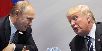 Trump y Putín planean crear una unidad de ciberseguridad