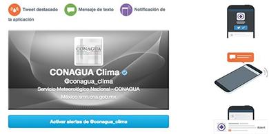 Twitter alertará emergencias climáticas en México