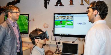 La UADE inauguró un Laboratorio de Realidad Aumentada y Videojuegos