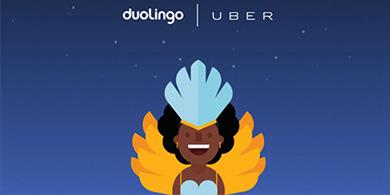 Duolingo y Uber lanzan UberENGLISH en Río de Janeiro