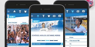 Cruzados lanzó su aplicación móvil oficial en Chile