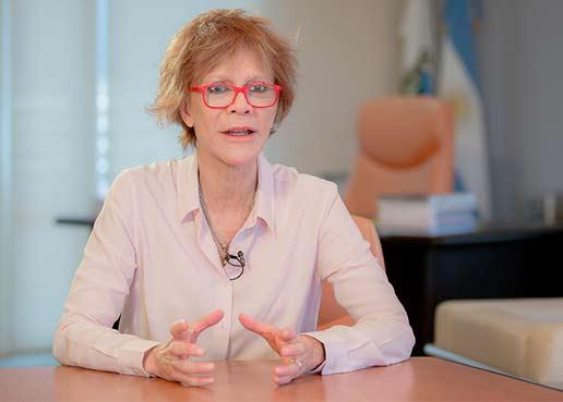 Alicia Bañuelos es la nueva rectora de la ULP y anunció ULP Virtual