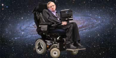 Stephen Hawking se va al espacio y vos, acá sentado, mirando una pantalla...