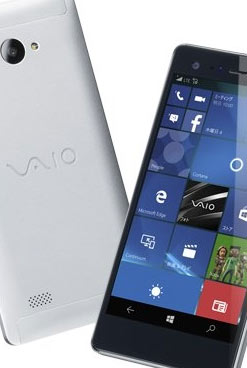 As� es el nuevo smartphone VAIO con Windows 10