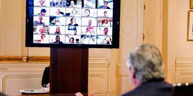 Coronavirus: ¿Qué empresas tech participaron de la videoconferencia con Alberto Fernández?