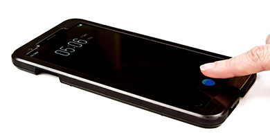 ¿Cuál será el primer smartphone con lector de huellas en la pantalla?