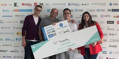 VU, seleccionada como ganadora de Acelerar España 2019