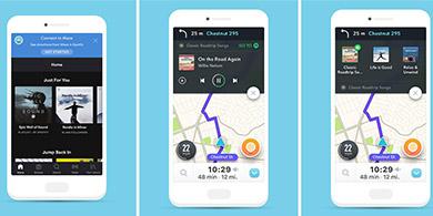 Spotify y Waze se unen para ponerle música a los viaje