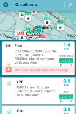 Waze ahora indica el precio de la nafta en cada estación de servicio