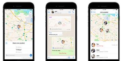 WhatsApp quiere que sepas dónde están tus contactos en tiempo real