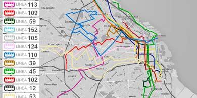 Estas serán las 15 líneas de colectivo con WiFi gratuito