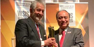 San Luis se llevó el oro en WSIS, por sus Escuelas Generativas